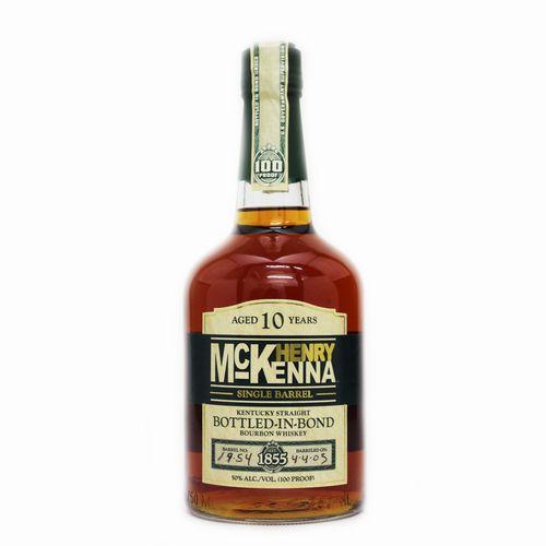 [バーボンウイスキー]ヘンリーマッケンナ シングルバレル 10年 750ml 50度【並行輸入品】