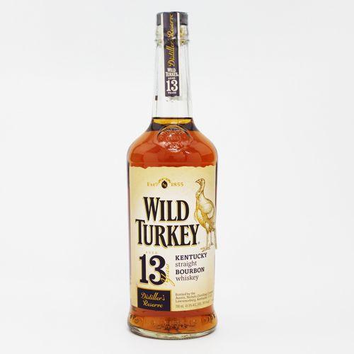[アメリカン/バーボンウイスキー]ワイルドターキー 13年 ディスティラーズ・リザーブ 700ml 45.5度【並行輸入品】