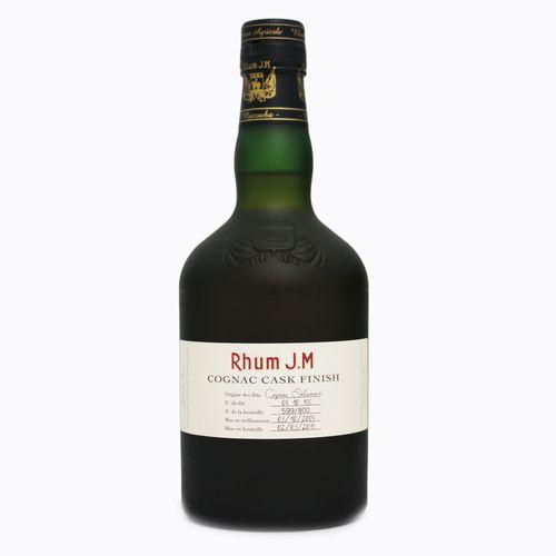 Ron Rum Rhum JM Cognac ジーエム ラム 正規品 完売 J.M 500ml 40.5度 激安格安割引情報満載 フィニッシュ デラマン コニャック