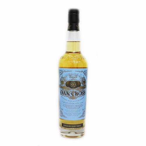 Scotch 営業 Blended ふるさと割 Compass Box Oak Cross コンパスボックス スコッチ ブレンデッドモルトウイスキー 試飲用50mlボトル オーククロス 43度