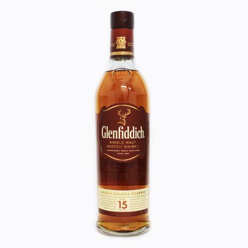 [スコッチ/シングルモルトウイスキー]グレンフィディック 15年 ユニーク ソレラ リザーヴ 700ml 40度【並行輸入品】