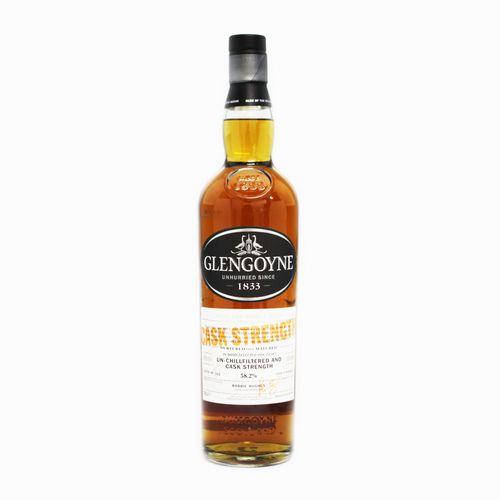 Scotch Whisky Single Malt Glengoyne Cask Strength 新作続 シングルモルトウイスキー スコッチ 百貨店 試飲用50mlボトル カスクストレングス グレンゴイン 58.2度