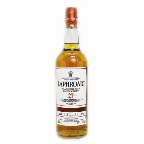 [スコッチ/シングルモルトウイスキー]ラフロイグ 27年 カスクストレングス 700ml 41.7度【並行輸入品】