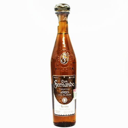 Tequila Don Fernando Anejo 新作多数 試飲 テキーラ 50mlボトル アネホ 年中無休 ドン フェルナンド 38度