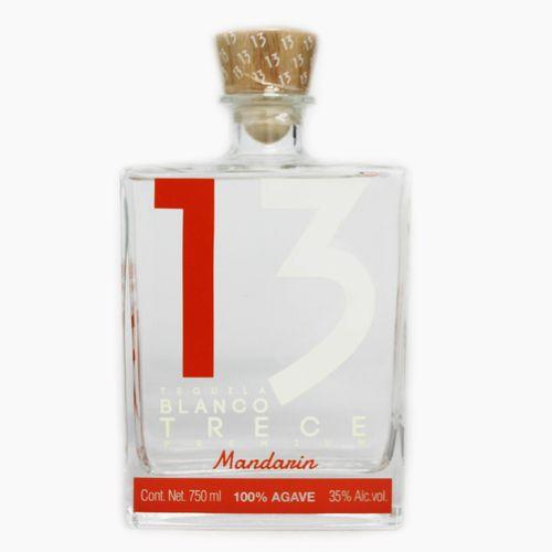 tequila trece mandarin テキーラ 13 ブランコ 40度 50mlボトル トレセ 正規店 マンダリン メーカー再生品