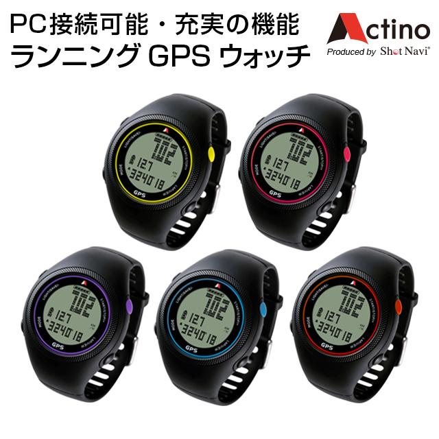 Actino(アクティノ) WT300[ウォッチ]/ランニングGPSウォッチ/GPSランニング/ランニングウォッチ/GPS