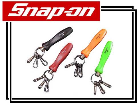 Snap-on(金鱼草开)旧型握柄原始物钥匙圈