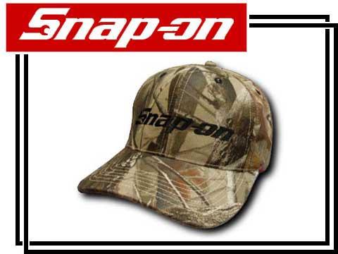 "Snap-on ( snap ) Cap ""OUTDOORSMAN CAMO CAP"