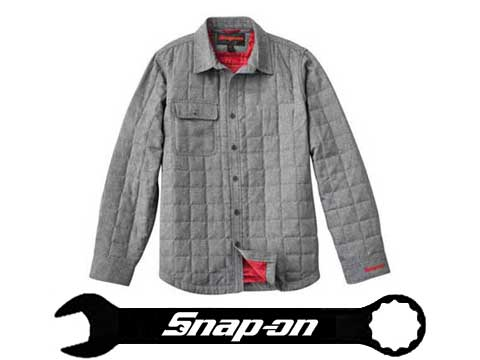 スナップオングッズ総数200点超 アメリカより毎月入荷しています 未使用 春秋冬用 Snap-on スナップオン JACKET ジャケット SHIRT QUILTED 品質検査済