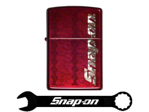 Snap-on(スナップオン)ジッポライター「ZIPPO CANDY APPLE WRENCH LIGHTER」