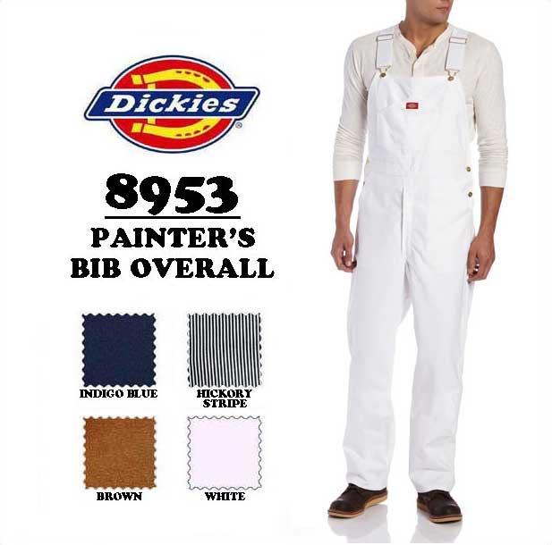 DICKIES(ディッキーズ)PAINTER'S BIB OVERALL 【WHITE】オーバーオール ホワイト