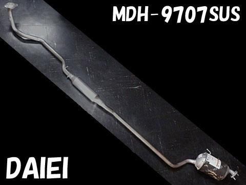『純正タイプ リヤマフラー』MDH-9707SUS(ダイハツ,タント,L350S)車検対応、ガスケット付