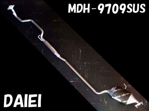 『純正タイプ リヤマフラー』MDH-9709SUS(ダイハツ,タント,L360S)車検対応、ガスケット付