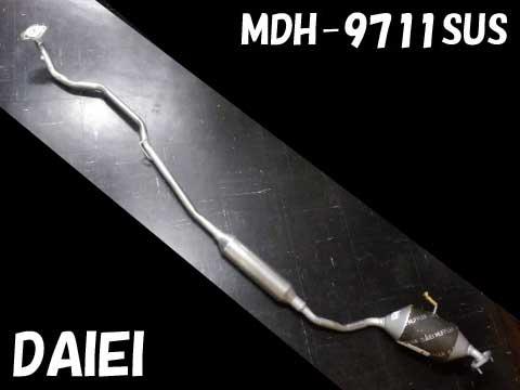 『純正タイプ リヤマフラー(分割式)』MDH-9711SPT(ダイハツ,タント,L350S)<セパレート型,オールステンレス>車検対応、ガスケット付