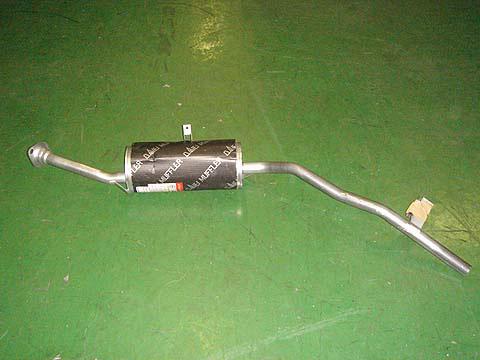 『純正タイプ リヤマフラー』MSS-9163(スズキ,ジムニー,JA12C,JA12V,JA12W,JA22W)車検対応、ガスケット付