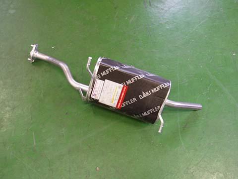 『純正タイプ リヤマフラー』MSS-9168SUS(スズキ,キャリー,DA52T,DB52T)車検対応、ガスケット付