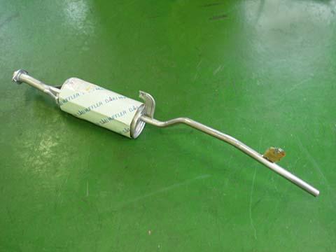 『純正タイプ リヤマフラー』MSS-9159(スズキ,キャリー,DC51T,DC51B)車検対応、ガスケット付