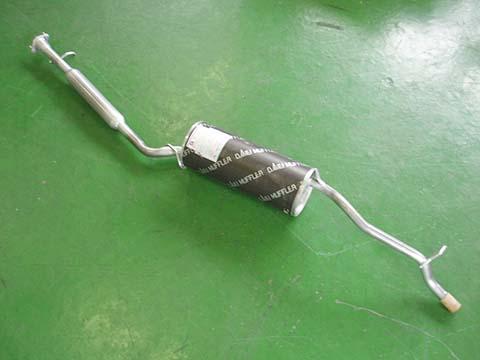 『純正タイプ リヤマフラー』MDH-9281(ダイハツ,ミラ,L510S,L510V)車検対応、ガスケット付