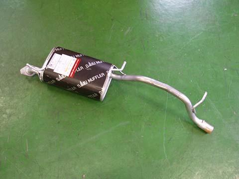 『純正タイプマフラー全品半額です!!』MSS-9171SUS(マツダ,AZワゴン,MD22S)車検対応、ガスケット付、代引きも可能です。