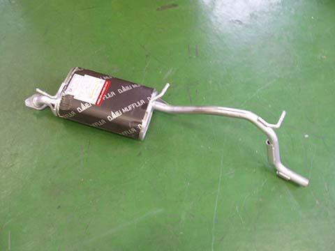 『純正タイプ リヤマフラー』MSS-9170SUS(マツダ,ラピュタ,HP12S,HP22S)車検対応、ガスケット付