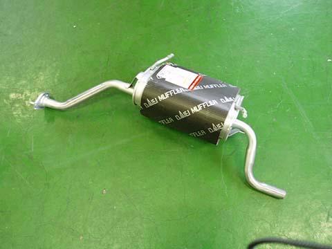 『純正タイプ リヤマフラー』MSS-9167SUS(マツダ,スクラム,DG52V,DH52V)車検対応、ガスケット付