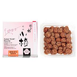 甘仕立て  「味小梅」160g■小さく甘酸っぱい紀州小梅、お弁当やおにぎりに最適。 勝喜梅 しょうきばい