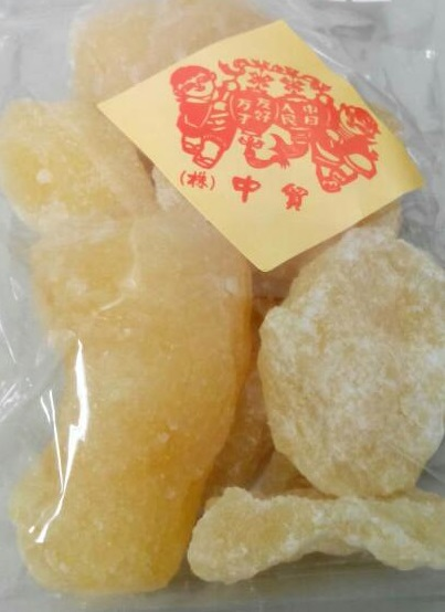 中華菓子 新作 人気 横浜中華街 洋なし 砂糖漬け 180g 代引き不可