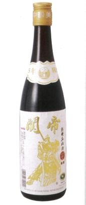 関帝 陳年15年紹興花彫酒(白ラベル) 600mlX12本(1ケース売り)、17度、15年長期熟成、口いっぱいに広がる風格ある味わいに魅了されます♪