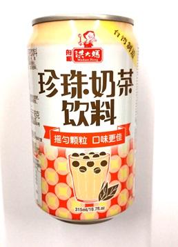 こどもから大人まで 大人気です 好評 横浜中華街 洪大媽 珍珠乃茶 タピオカ入りミルクティ 送料無料 台湾を代表するドリンクです 即出荷 台湾タピオカミルクティー パールミルクティー セット売り 320gX6缶