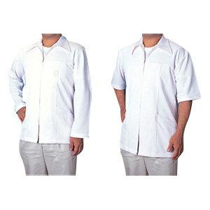 DC白衣 半袖3L(ST-219D) 素材は通気性が良く伸縮性のあるニットで作られておりますのでactiveな動きにも対応致します。【smtb-s】