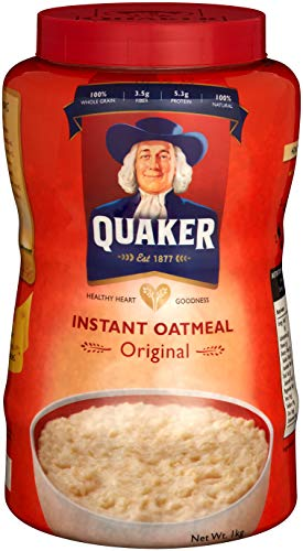 クエーカー インスタント オートミール 1kg えん麦 シリアル