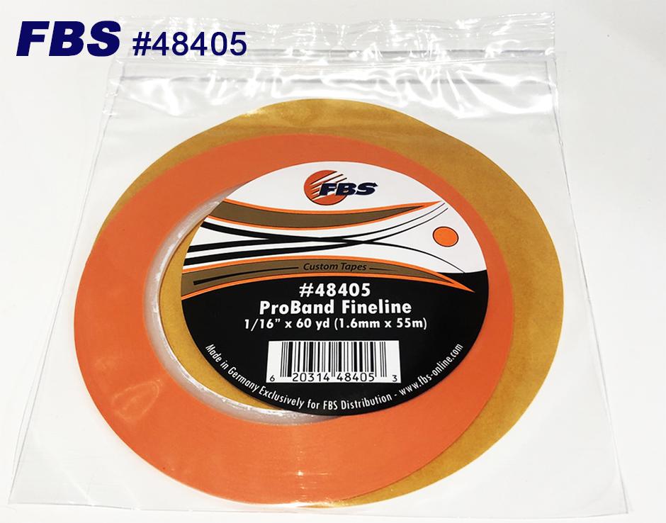 【GWポイント&日替クーポン配布中】FBSカスタムテープ プロバンド ファインライン オレンジ 48405 1.6mm 12本セット マスキングテープ Tape テープ 塗装用品 塗料 塗料 ペイント 車 バイク 建築 カラー デザイン アート