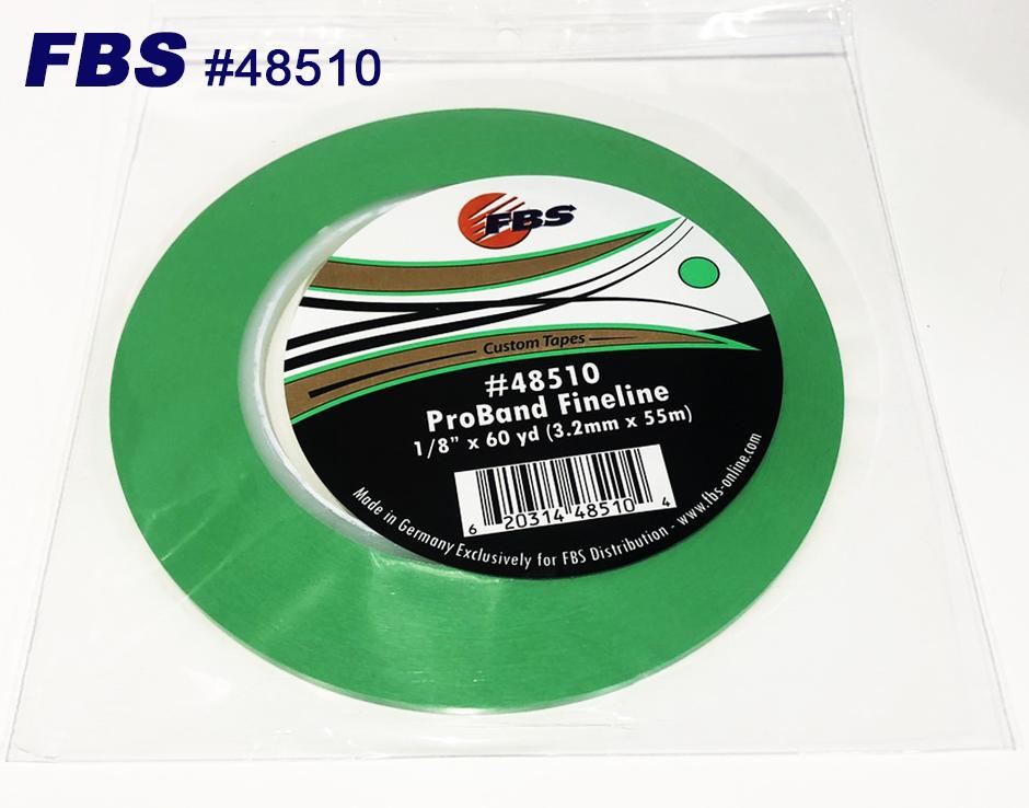 FBSカスタムテープ プロバンド ファインライン グリーン 48510 3.2mm PRO 塗装 塗料 ペイント 建築 買い取り バイク 塗装用品 カラー マスキングテープ TAPE 誕生日プレゼント アート デザイン 車 テープ