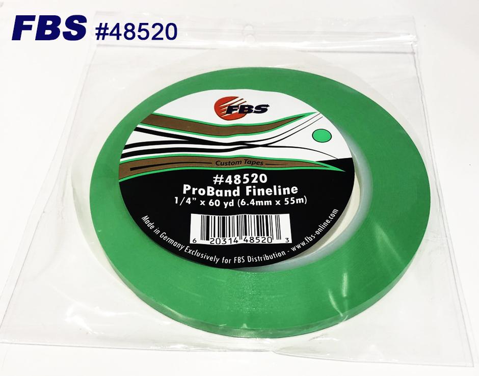 【GWポイント&日替クーポン配布中】FBSカスタムテープ プロバンド ファインライン グリーン 48520 6.4mm 12本セット マスキングテープ Tape テープ 塗装用品 塗料 塗料 ペイント 車 バイク 建築 カラー デザイン アート