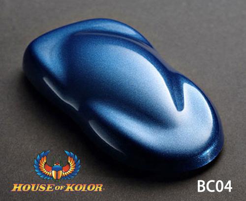 ハウスオブカラー 送料込 グラマーメタリックベースコート BC04 ストラットブルー STRATTO BLUE 塗料 人気ブレゼント ペイント 塗装 カラー アート メタリック バイク 車 カスタムカラー デザイン 建築