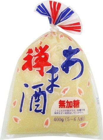 【送料無料】カネジュウ食品 禅 あま酒 無加糖 400g(5~6人前)×40個 ケース販売 飲む点滴