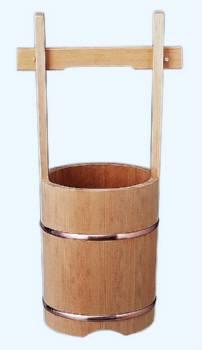 ふた無し 木製手桶 24【送料無料】