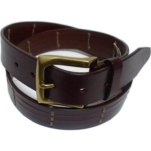 トラファルガー 本革製 レザーベルト 茶 ブラウン メンズ TRAFALGAR LEATHER BELT 017
