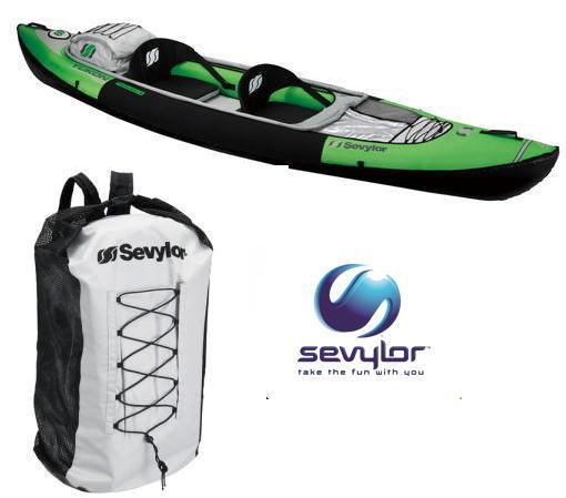 【 Sevylor 】ユーコンカヤックセット(ポンプ付き)【 18% OFF ! 】●送料無料●