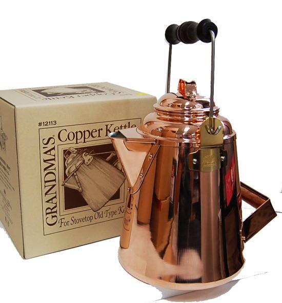 【 グランマー 】Copper Kettle 5.2L-送料無料-