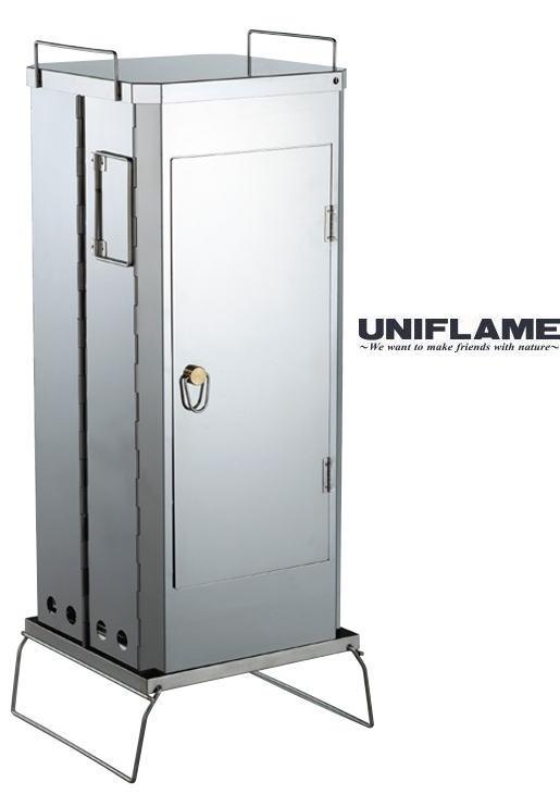 【ユニフレーム】フォールディングスモーカー FS-600●送料無料●
