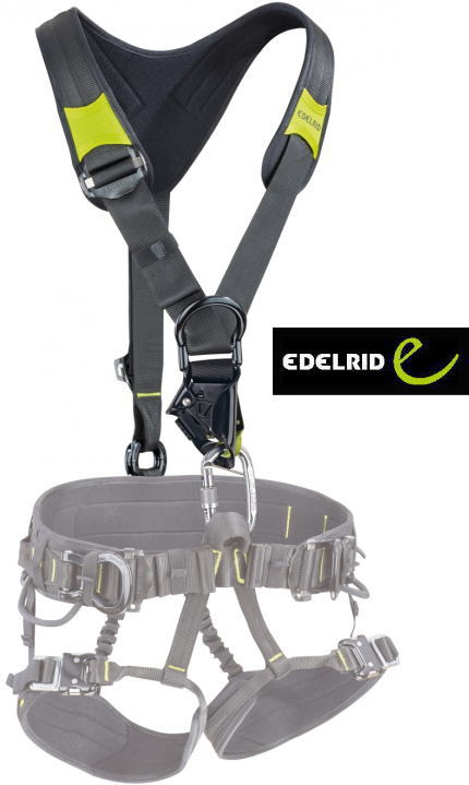 【 EDELRID 】Core Top with Chest Ascender●送料無料●