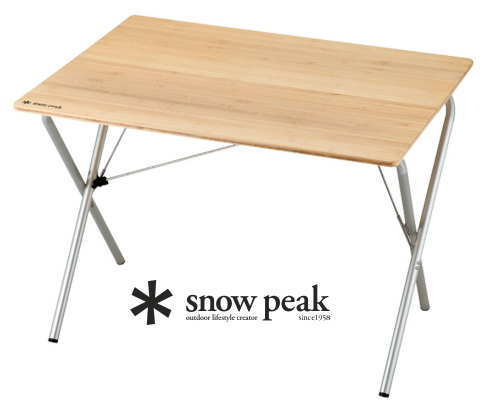 【スノーピーク】Single Action Table Bamboo ワンアクションテーブル 竹-送料無料-