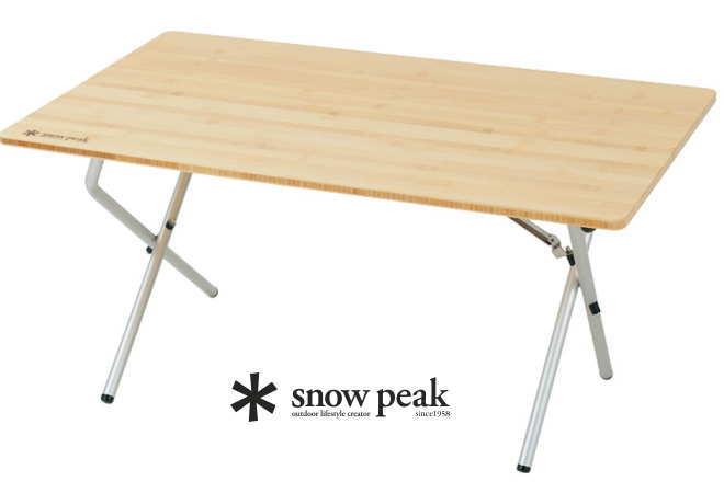 【スノーピーク】 ワンアクションローテーブル竹●送料無料●
