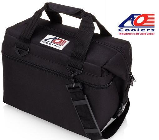 【 AO Coolers 】48PK CANVAS 48パック キャンバス ブラック(ソフトクーラー)●送料無料●