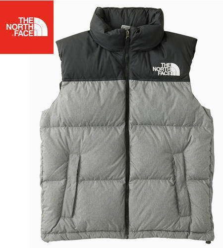 【 THE NORTH FACE 】【 30% OFF ! 】Novelty Nuptse Vest Men's【Size】 M●送料無料●