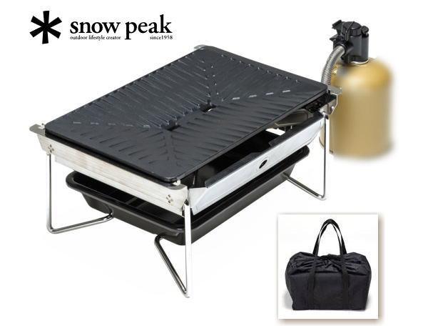 【スノーピーク】グリルバーナー 雪峰苑GRILL BURNNER SEPPOU-EN●送料無料●