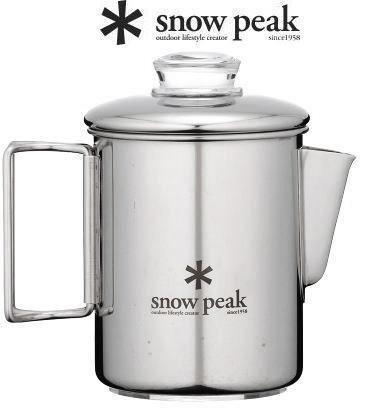 【スノーピーク】ステンレスパーコレーター 6 カップStainless-steel Coffee Percolator 6 Cups●送料無料●