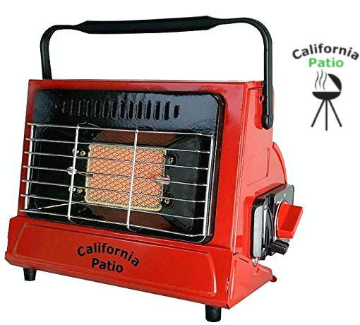 【 California Patio  】カリフォルニアパティオカセットガスヒーター【Color】ファイヤーレッド