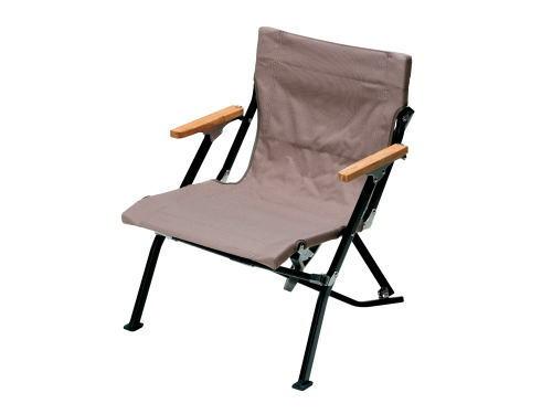 【スノーピーク】Low Chair Short Gray ローチェアショート グレー-送料無料-